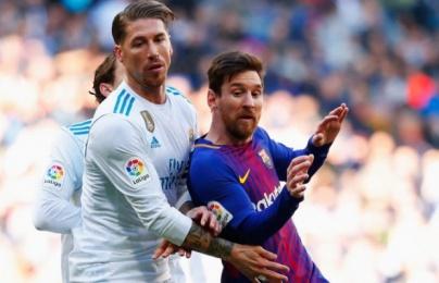 Vượt mặt Iniesta, Messi vẫn xếp sau Ramos ở 1 khoản tại El Clasico