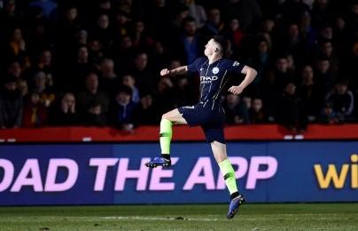 Ghi 3 bàn trong 15 phút cuối, Man City tự tin nghĩ về Champions League