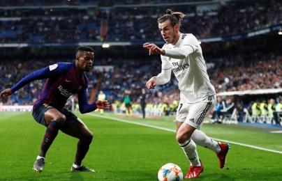 CĐV Barca dùng Ronaldo chế giễu Real Madrid