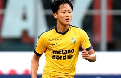 """Đội bóng của """"Messi Hàn Quốc"""" giành quyền thăng hạng Serie A"""