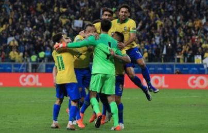 Nhà vô địch Champions League đưa Brazil vào Bán kết sau loạt đấu súng nghẹt thở