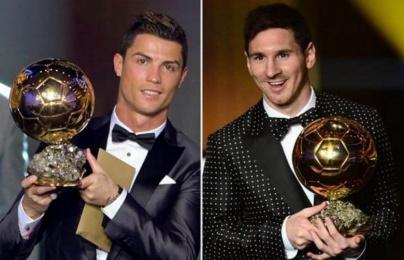 Messi và Ronaldo từng