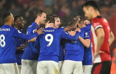 """9 lần """"nhả đạn"""", Leicester City là đội ghi bàn nhiều nhất Châu Âu?"""