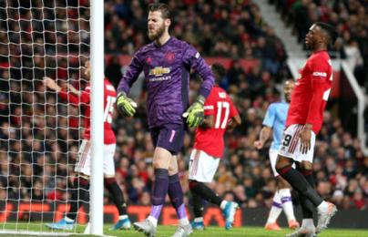 Hàng thủ thảm họa, Man United thua tan nát trước Man City