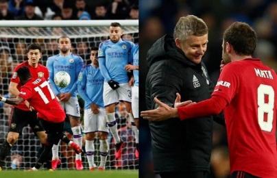 Man Utd bị Man City loại vì sai lầm