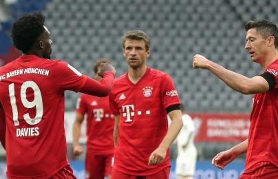 """Khai """"súng thần công"""", Bayern Munich vùi dập đối thủ không thương tiếc"""