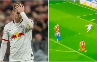 """""""Thần gỗ"""" Werner hiện hình, NHM hả hê: """"Cậu ta là bóng ma, là Morata 2.0"""""""