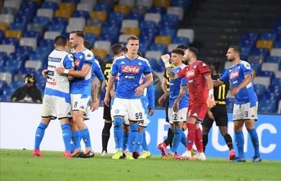 """Eriksen lập siêu phẩm, Inter Milan vẫn bị """"hất văng"""" khỏi Coppa Italia"""