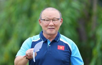 """HLV Park Hang-seo: """"Bóng đá Việt Nam đang thiếu tài năng trẻ"""""""