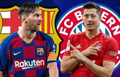Truyền thông Đức dự đoán đội hình ra sân của Bayern và Barcelona