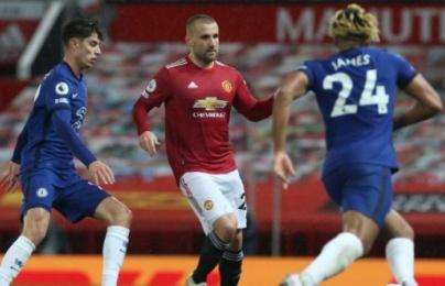 Luke Shaw chỉ ra điểm tích cực của Man Utd sau trận hòa Chelsea