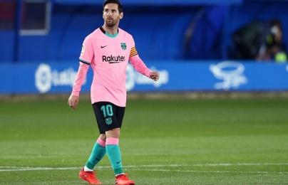 Lionel Messi và thống kê sốc về phong độ tại Barcelona