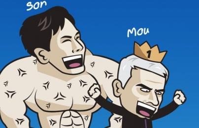 Cười té khói với loạt ảnh chế Tottenham thắng Man City