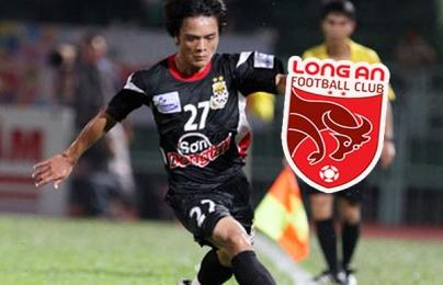 """Đón """"người cũ"""" từ SHB Đà Nẵng, CLB Long An có tân binh đầu tiên cho mùa 2021"""