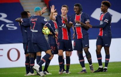 """Combo """"thẻ đỏ + penalty"""" bước ngoặt đưa PSG áp sát ngôi đầu Ligue I"""