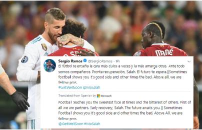 170,000 người ký đơn yêu cầu trừng phạt Ramos sau pha bóng làm Salah chấn thương
