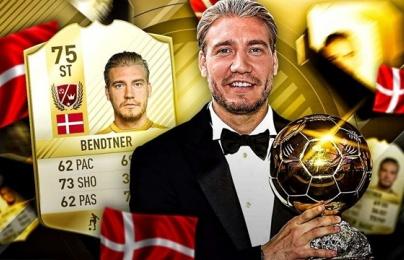 Bendtner - từ người tự nhận ngang hàng Messi tới mục tiêu châm biếm
