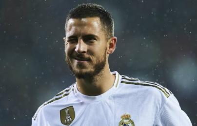 Hazard và thống kê đáng buồn trong màu áo Real
