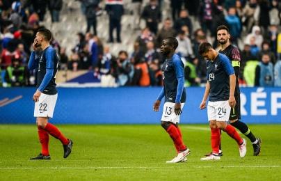 Đội tuyển Pháp - tập thể không có thủ lĩnh