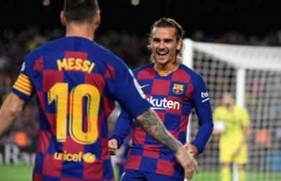 Barca thắng nhọc, Griezmann phát biểu 1 câu xanh rờn về tương lai CLB