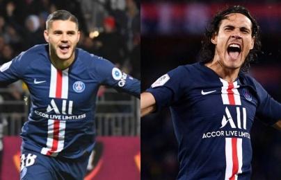 """Inter và PSG """"bắt tay"""" trong vụ hoán đổi hai cây săn bàn"""