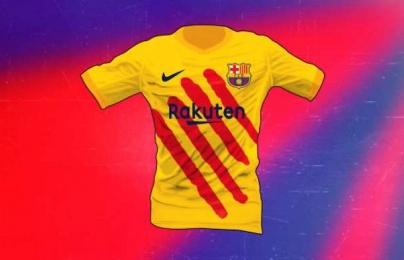 Barcelona thiết kế áo đấu riêng cho El Clasico