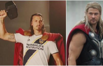 LA Galaxy tôn vinh Ibrahimovic bằng tạo hình