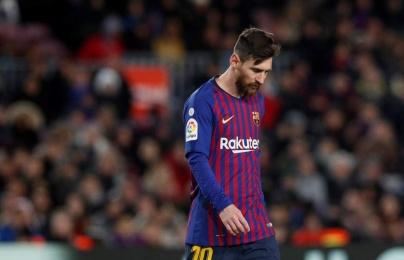 Tại sao Messi không đá chính ở trận Barca 1-1 Real Madrid?