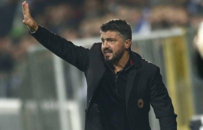 """Gattuso: """"Chúng tôi đá như kẻ ngốc"""""""