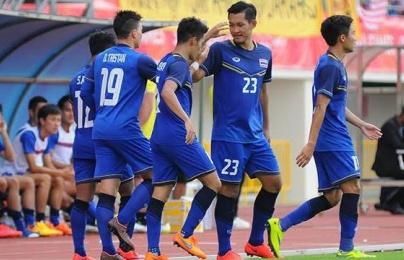 """Thái Lan """"thay máu"""" nhân sự trước ASIAD Cup 2018"""