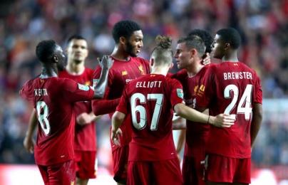 Đá như đi dạo, Liverpool vẫn hạ gục được