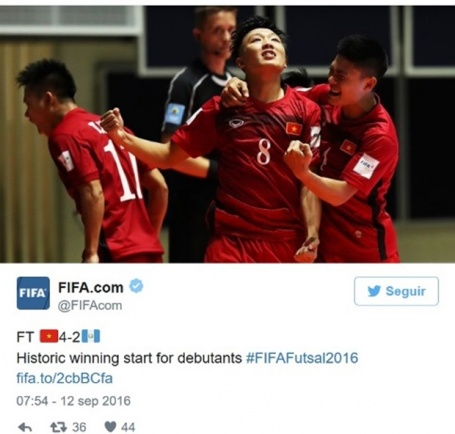 Ha Guatemala tuyen futsal Viet Nam duoc bao chi the gioi ca ngoi