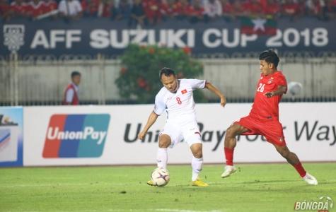 TRỰC TIẾP ĐT Myanmar 0-0 ĐT Việt Nam: Công Phượng rời sân