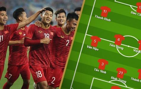 Đội hình ra sân U23 Việt Nam vs U23 Indonesia: Đình Trọng tái xuất, đặt niềm tin vào ảo thuật gia