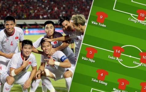 Đội hình ra sân ĐT Việt Nam đấu UAE: Bộ ba thiết giáp, đứa con của thần gió