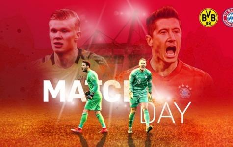 TRỰC TIẾP Dortmund - Bayern Munich (H1): Lưới của Bayern Munich đã rung lên