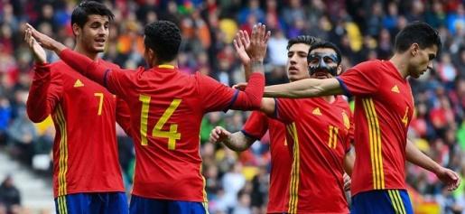 Tây Ban Nha được dự đoán có một chiến thắng với cách biệt tối thiểu vào đêm nay. Ảnh: Internet.