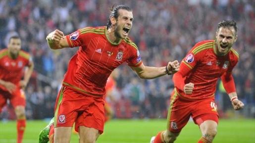 Gareth Bale gánh đội tuyển trên lưng bước vào vòng chung kết EURO. Ảnh: Internet.