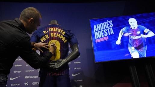 Hợp đồng trọn đời của Iniesta là như nào? - Bóng Đá