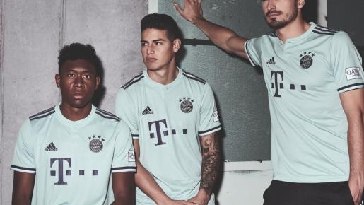 Bayern Munich ra mẫu áo sân khách cực chất