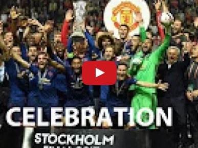 Niềm vui khó tả của Manchester United trong ngày đăng quang Europa League