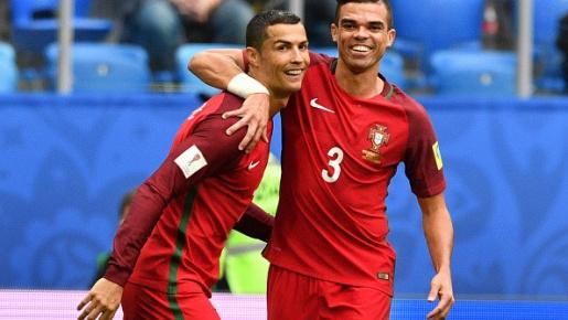 Highlights: New Zealand 0-4 Bồ Đào Nha (Bảng A Confeds Cup)