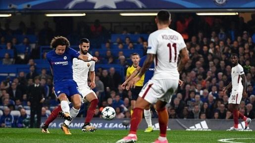 Chelsea 3-3 AS Roma: Màn rượt đuổi tỉ số tại Stamford Bridge