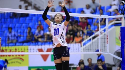 Vẻ đẹp tinh khôi của tuyển thủ bóng chuyền Linh Chi
