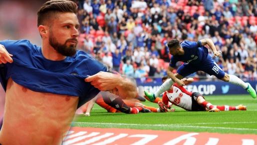 Bản tin BongDa 23/04 | Ghi bàn 'cực ảo', Giroud đưa Chelsea vào Chung kết FA