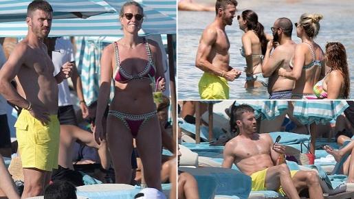 Carrick tranh thủ thư giãn trước khi cật lực vì Mourinho