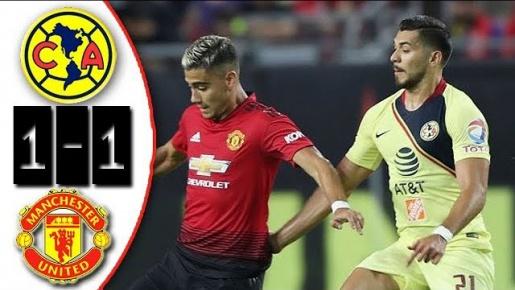 Highlights: Club America 1-1 Man United (Giao hữu quốc tế)