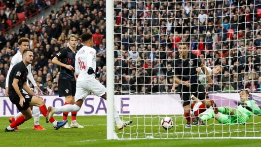 Thua ngược trên Wembley, Á quân World Cup cay đắng rớt hạng Nations League