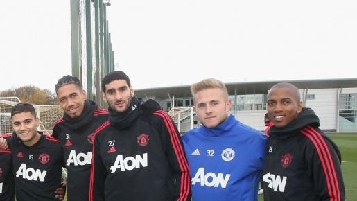 Paul Woolston: Gương mặt lạ trên sân tập của Man Utd là ai?