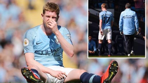NÓNG! Pep làm rõ chấn thương của De Bruyne trước trận Man Utd